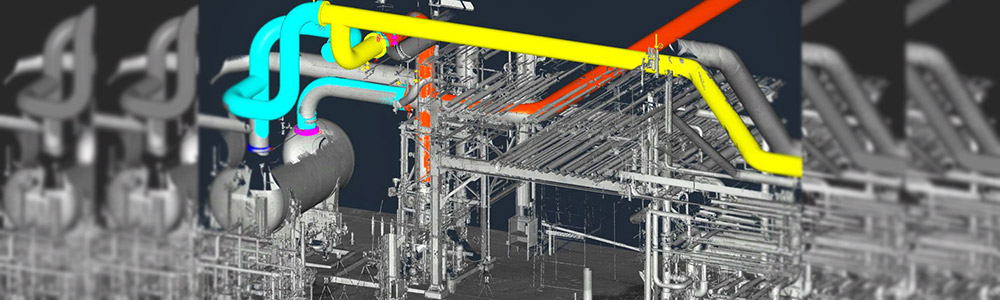 3D Laser Drafted Plans - Refinery/Refining Engineering & Design