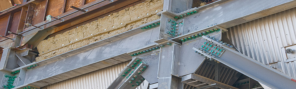 Jointed Support Steel Beams with High Tension Nuts and Bolts - Civil / Structural Engineering - Gekko Engineering