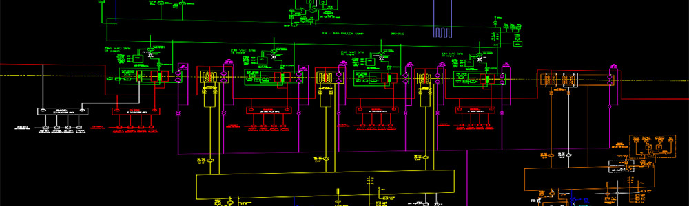 Electrical Single Line Diagram Drawing - Electrical Engineering and Electrical Design