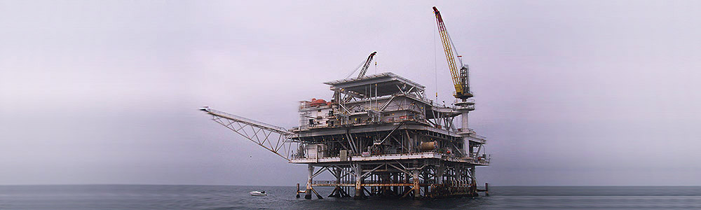 Upstream Offshore Drilling Oil Platform Rig - Oil & Gas